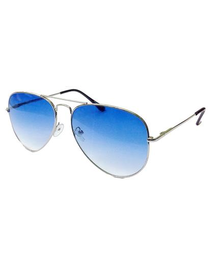 TBZ Blue Gradient Aviator Sunglasses
