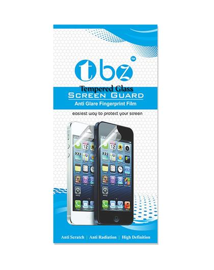 TBZ Tempered Screen Guard -Black for Xiaomi Redmi 4