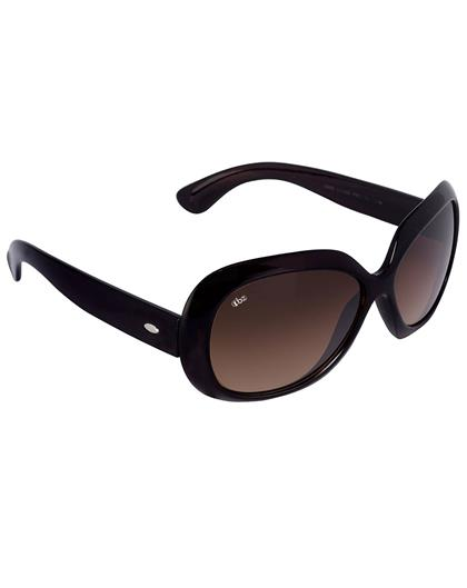TBZ Brown Oversized Women Premium Sunglasses