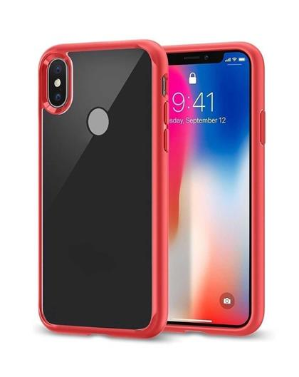 wholesale dealer 1ed76 7f4ad TBZ Transparent Hard Back with Soft Bumper Case Cover for Xiaomi ...