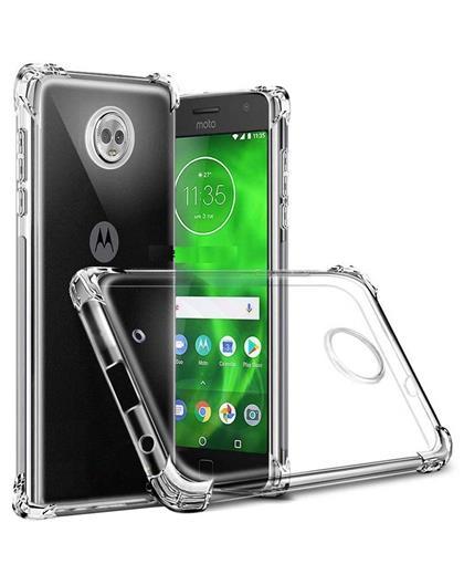 TBZ Transparent Bumper Corner TPU Case Cover for Motorola Moto G6