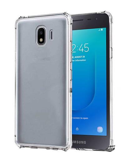 TBZ Cover for Samsung Galaxy J2 Core Soft Silicone TPU Transparent Bumper Corner TPU Case Cover