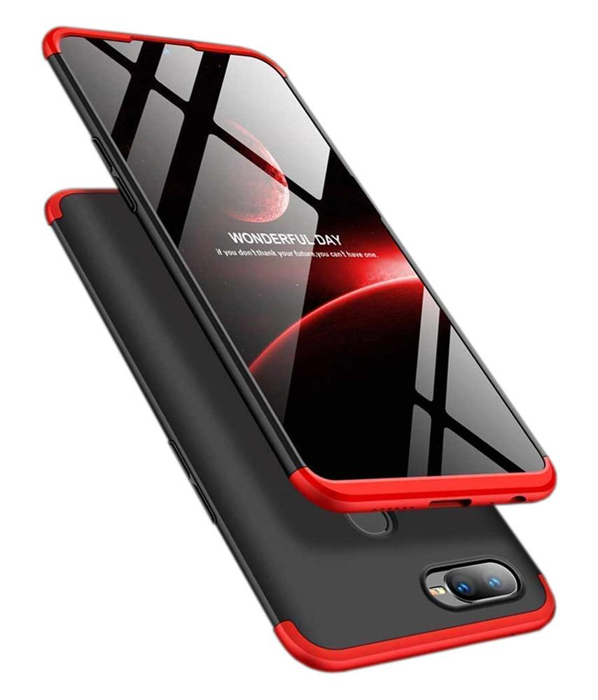 best cheap 31857 c4a41 TBZ Cover for RealMe 2 Pro Ultra-thin 3-In-1 Slim Fit Complete 3D ...