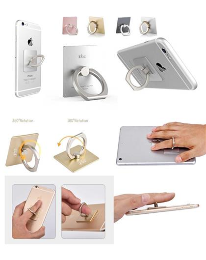 Mobile Ring Stand Holder/Guard Against Theft/360 Degree Rotating Ring Holder