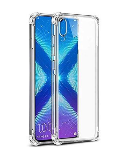 RRTBZ Cover for Samsung Galaxy M10 Transparent Bumper Corner Soft Flexible TPU Case Cover for Samsung Galaxy M10