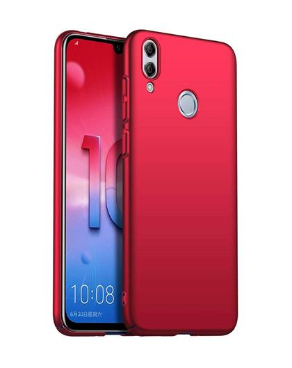 RRTBZ Cover for Honor 10 Lite 4 Cut All  Sides Protection Hard Back Case Cover for Honor 10 Lite -Red