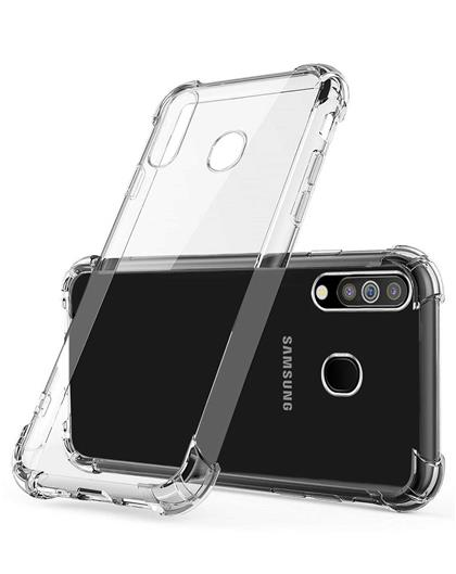 Back Cover Case for Samsung Galaxy A70 Soft Silicone TPU Flexible Back Cover for Samsung Galaxy A70 (Transparent)