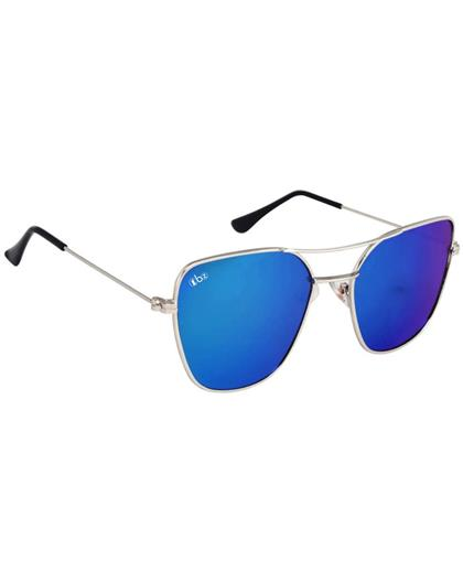 RRTBZ Blue Mercury Aviator Sunglasses