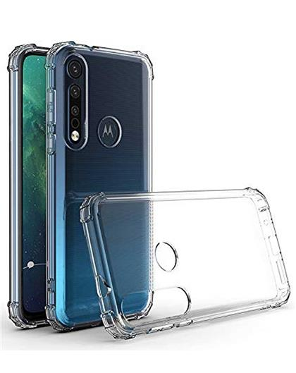Case for Motorola Moto G8 Play Transparent Bumper Corner TPU Case Cover for Motorola Moto G8 Play