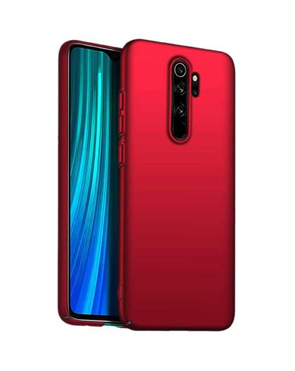Hard Back Case Cover for Xiaomi Redmi Note 8 Pro -Red