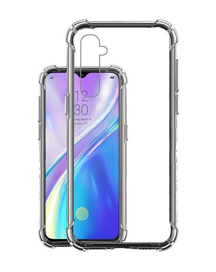 Case for Realme XT Transparent Soft Silicone TPU Back Cover for Realme XT