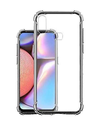 TPU Cover for Samsung Galaxy A10s Transparent Bumper Corner Soft Silicone TPU Flexible Back Cover for Samsung Galaxy A10s