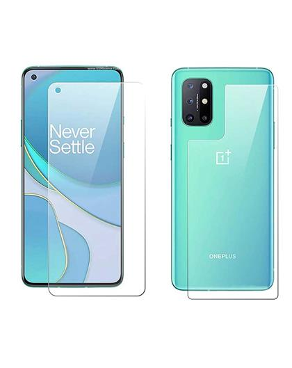 Front and Back Fiber Impossible Screen Guard For OnePlus 8T