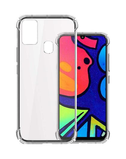 Silicone TPU Back Cover for Samsung Galaxy M31 / Galaxy F41 / Galaxy M21