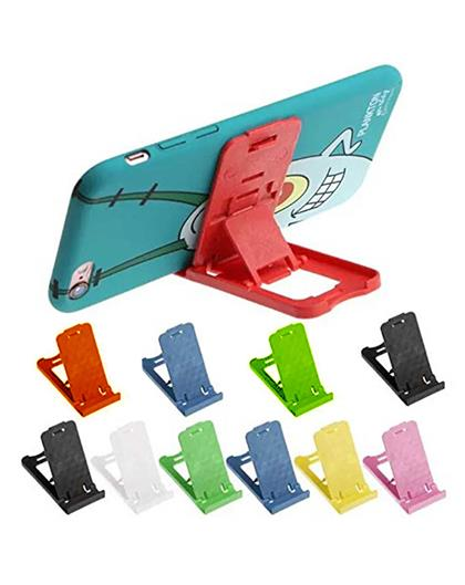 Desktop Portable Foldable Holder Mobile Stand Tablet Stand, Stand Holder for Mobile Phone and Tablet - Multi-Colored