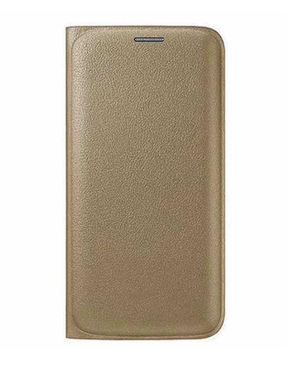 TBZ PU Leather Flip Cover Case for Samsung Galaxy J5 (2016) -Golden