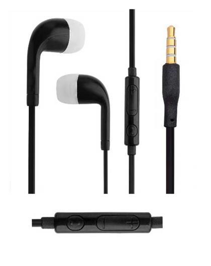 TBZ Black Headphones for 3.5 mm Jack