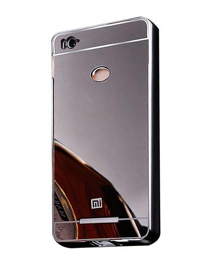 best service 0ea1f a5be5 TBZ Metal Bumper Acrylic Mirror Back Cover Case for Xiaomi Redmi 3s ...