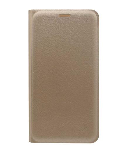 TBZ PU Leather Flip Cover Case for Gionee S6s -Golden