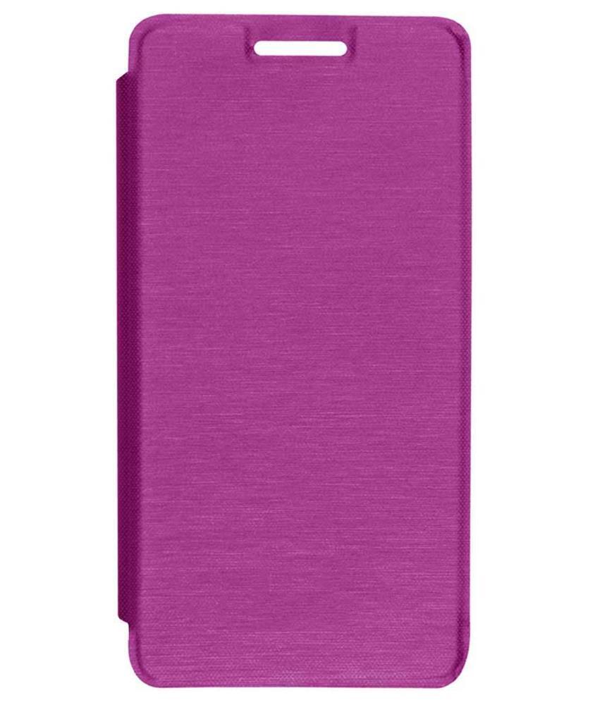 official photos 43668 36185 TBZ Flip Cover Case for Micromax Canvas 4 Plus A315 -Magenta ...