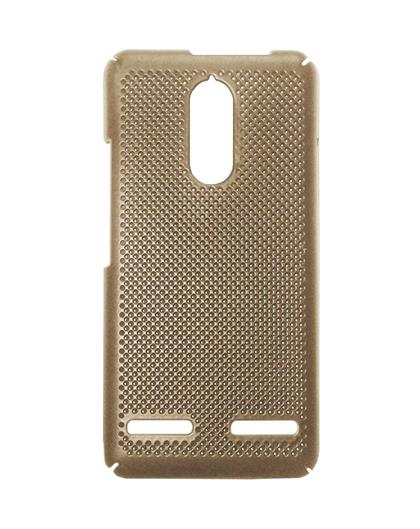 TBZ Hard Grip Back Cover Case for Lenovo K6 Power  -Golden