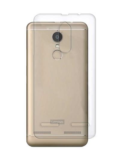 TBZ Transparent Silicon Soft TPU Slim Back Case Cover for Lenovo K6 Power