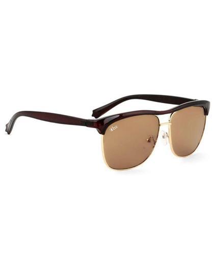 TBZ Brown Clubmaster Sunglasses