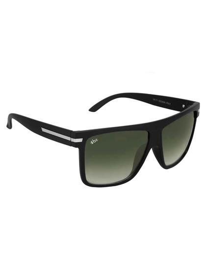 TBZ Green Luxury Metal Rectangular Wayfarer Sunglasses