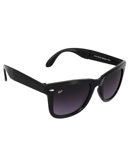 TBZ Black Folding Wayfarer Sunglass