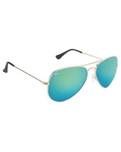 TBZ Blue Mercury Aviator Sunglasses