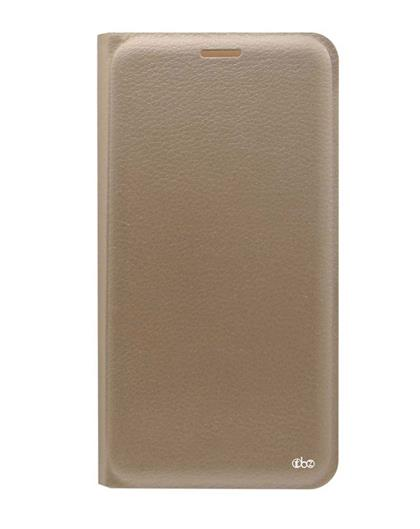 TBZ PU Leather Flip Cover Case for Motorola Moto G5 Plus -Golden