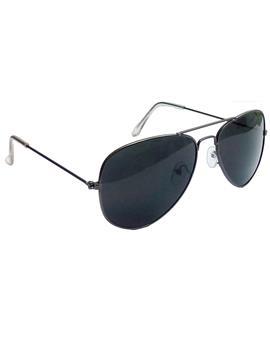 TBZ Black Aviator Sunglasses