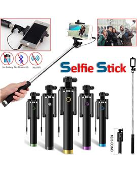Selfie Stick With Aux Cable