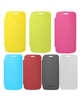 TBZ Flip Cover Back Replace Book Case for Micromax A110 Canvas 2 Superfone