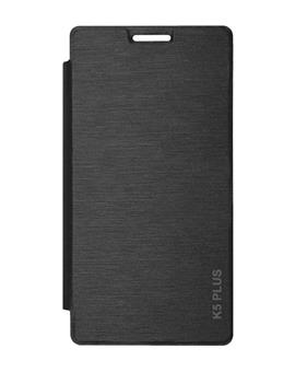TBZ Flip Cover Case for Lenovo Vibe K5 Plus -Black