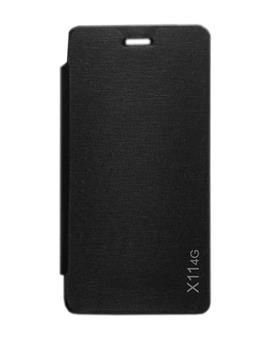 TBZ Flip Cover Case for Lava X11 4G  -Black