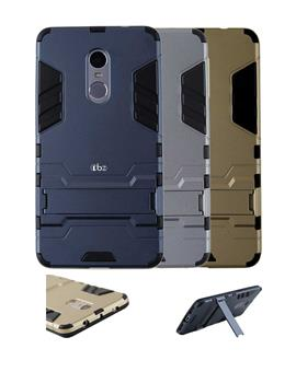 Cover for Xiaomi Redmi Note 4 - Tough Heavy Duty Shockproof Armor Defender Dual Protection Layer Hybrid Kickstand Back Case Cover by TBZ