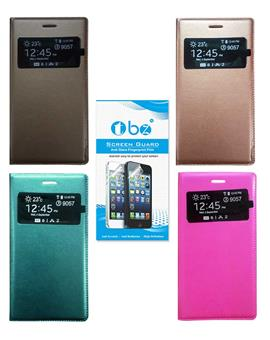 TBZ PU Leather Window Flip Cover for Samsung Galaxy Core i8262