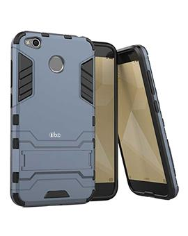Xiaomi Redmi A1 Tough Shockproof Defender Dual Protection Layer Hybrid Kickstand Back Case Cover by TBZ