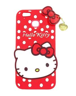 TBZ Cute Hello Kitty Soft Rubber Silicone Back Case Cover  for Xiaomi Redmi A1