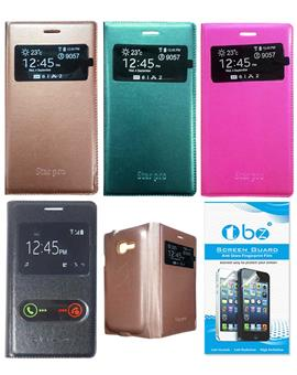 TBZ PU Leather Window Flip Cover for Samsung Galaxy Star Pro S7262