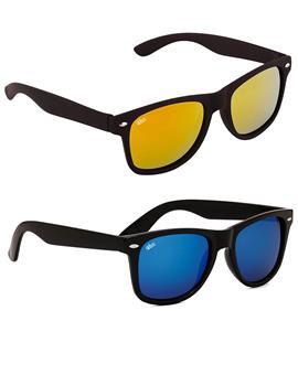 TBZ Wayfarer Unisex Mercury Sunglasses