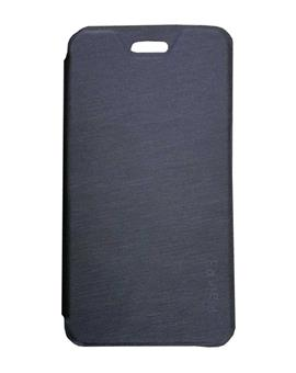 TBZ Flip Cover Case for Lava Flair P3 -Black