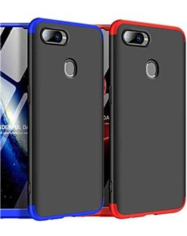 TBZ Cover for Oppo F9 Pro Ultra-thin 3-In-1 Slim Fit Complete 3D 360 Degree Protection Hybrid Hard Bumper Back Case Cover