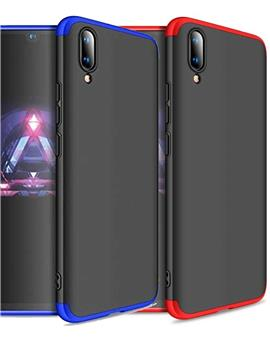 TBZ Cover for Vivo V11 Pro Ultra-thin 3-In-1 Slim Fit Complete 3D 360 Degree Protection Hybrid Hard Bumper Back Case Cover