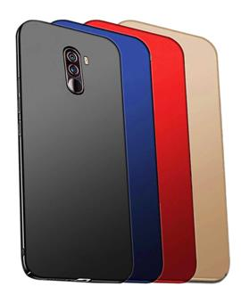 TBZ All Sides Protection Hard Back Case Cover for Poco F1