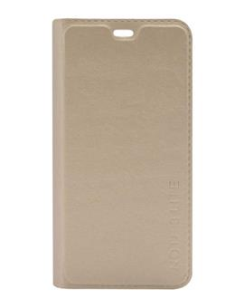 TBZ PU Leather Flip Cover Case for Coolpad Note 3 Lite -Golden