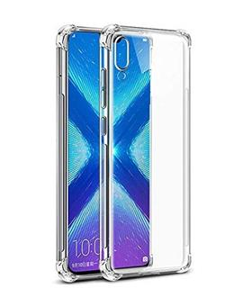 RRTBZ Cover for Samsung Galaxy M10 Transparent Bumper Corner Soft Flexible TPU Case Cover for Samsung Galaxy M10