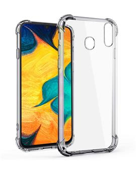 RRTBZ Back Cover Case for Samsung Galaxy A30 Soft Silicone TPU Flexible Back Cover for Samsung Galaxy A30 (Transparent)