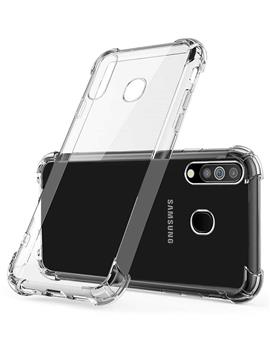 Back Cover Case for Samsung Galaxy A70 Soft Silicone TPU Flexible Back Cover for Samsung Galaxy A70 (Transparent)